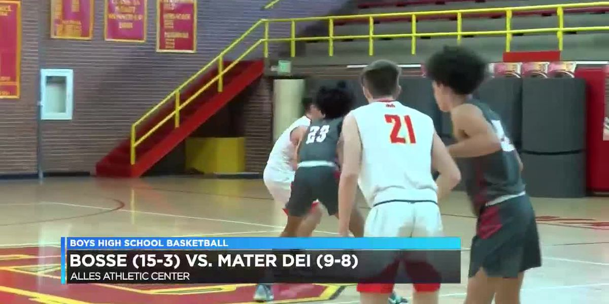 HS Boys Basketball: Bosse vs. Mater Dei