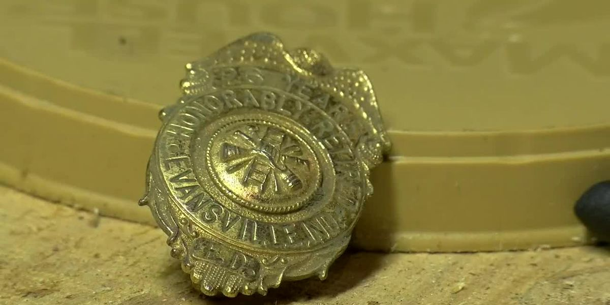 Family claims retired firefighter badge found with metal detector