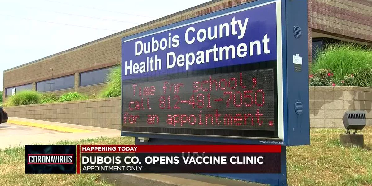 Dubois Co. opens COVID-19 vaccine clinic