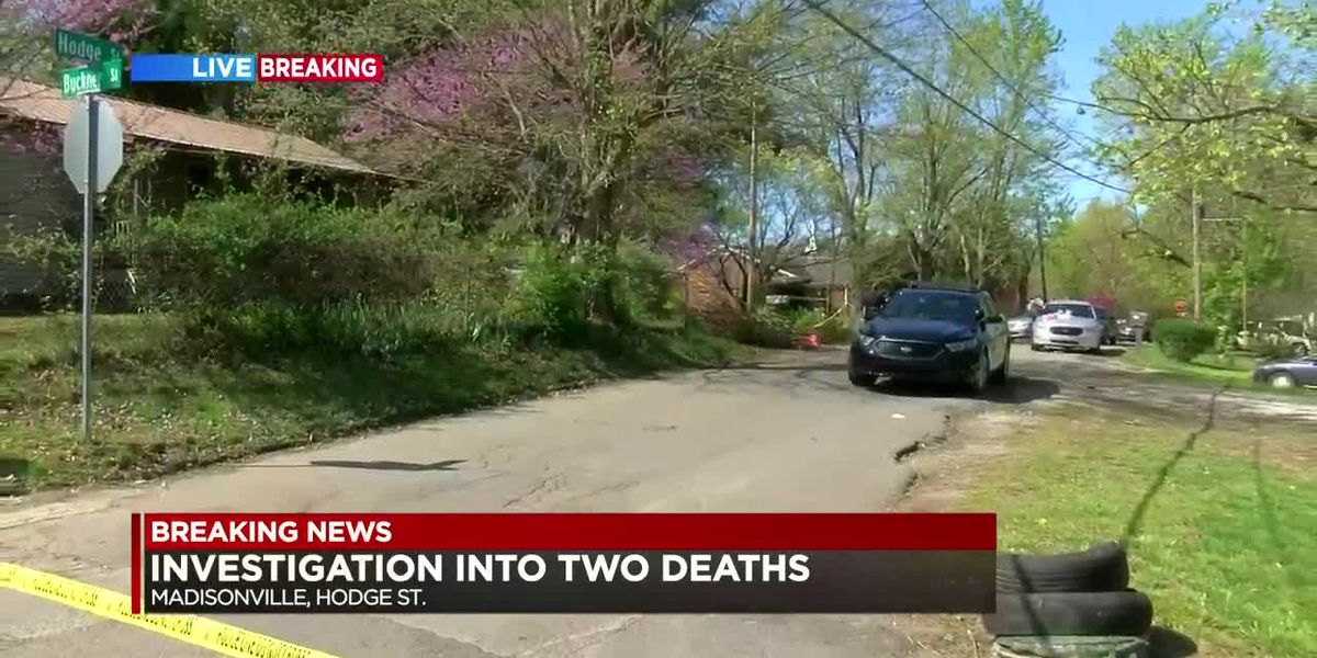 Names released of 2 found dead in Madisonville home; Suspect arrested