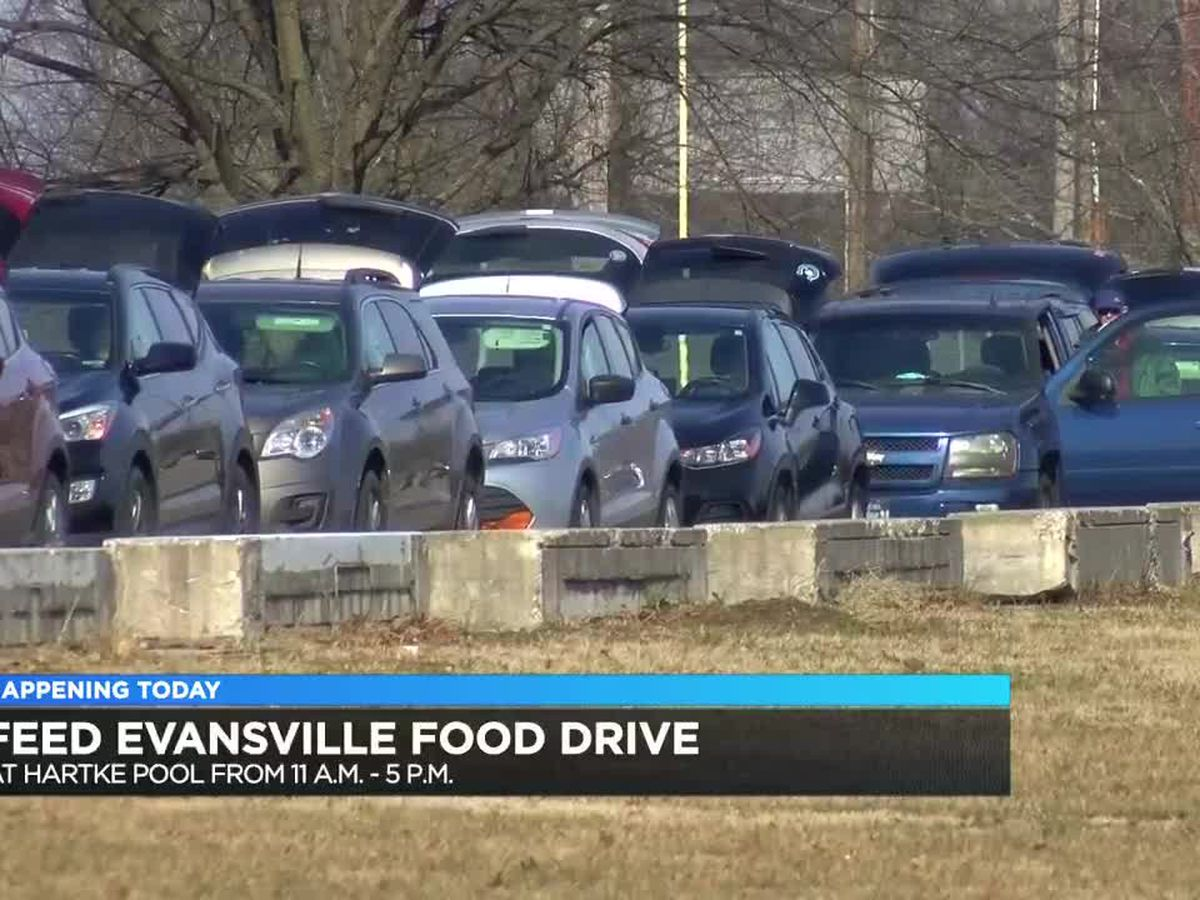 Feed Evansville hosting free food drive Wed.