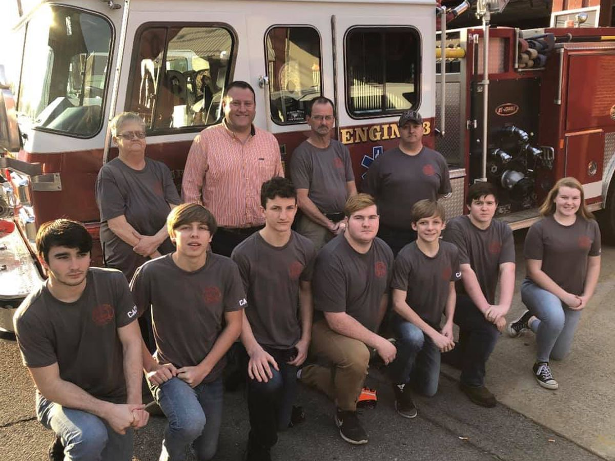 7 teens help start new Sturgis Junior Volunteer Firefighter program