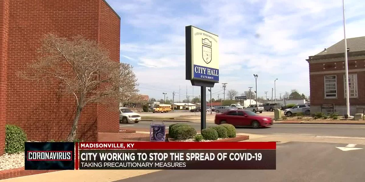 Madisonville city officials working to stop spread of COVID-19