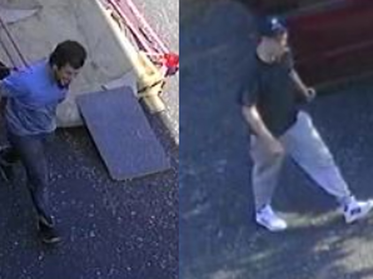 Police looking for suspects allegedly involved in motorcycle theft