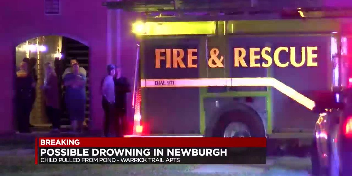 Several crews respond to potential child drowning in Newburgh