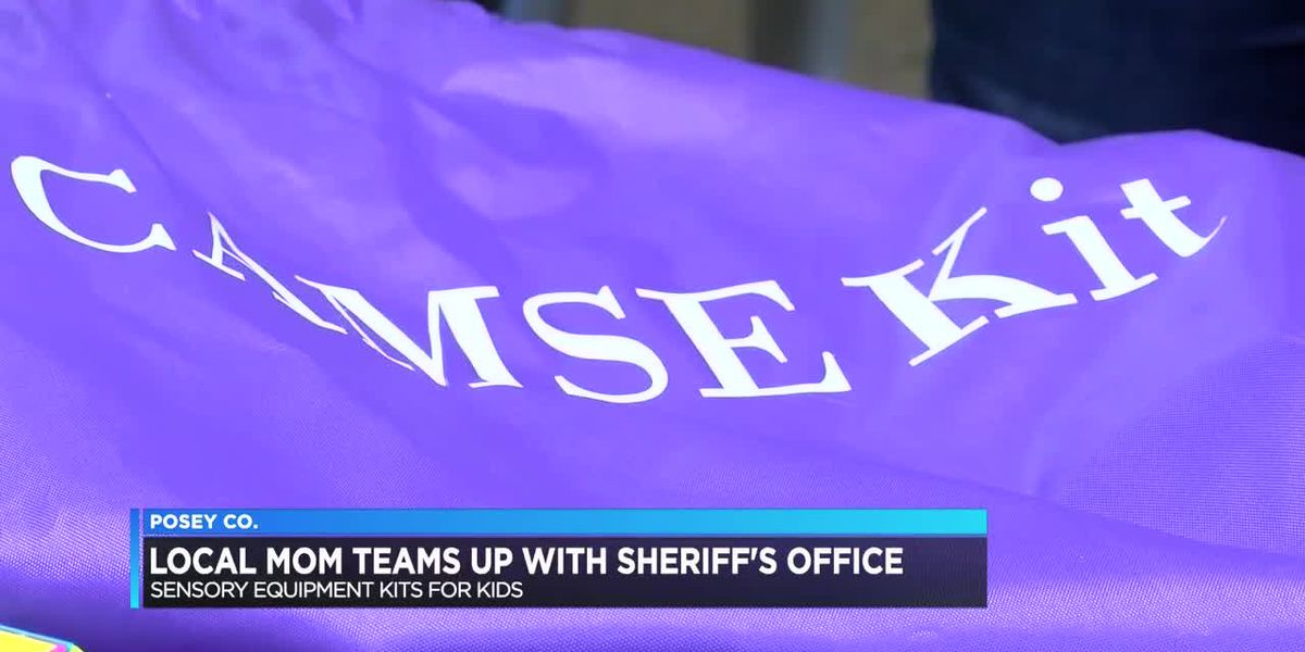 Posey Co. Sheriff's Office adopts sensory equipment kit for children