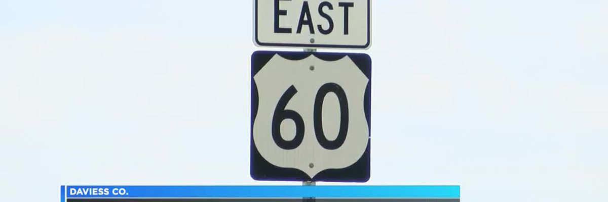 US 60 lane restrictions in Daviess Co.
