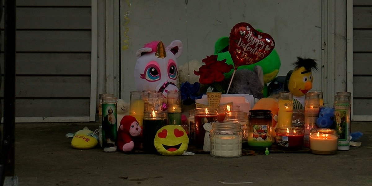 Neighbor starts candle memorial for 3-month-old child found dead