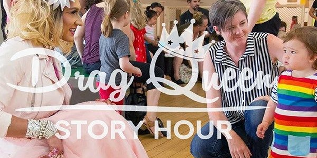 EVPL: Drag Queen Story Hour attendees must have kid there