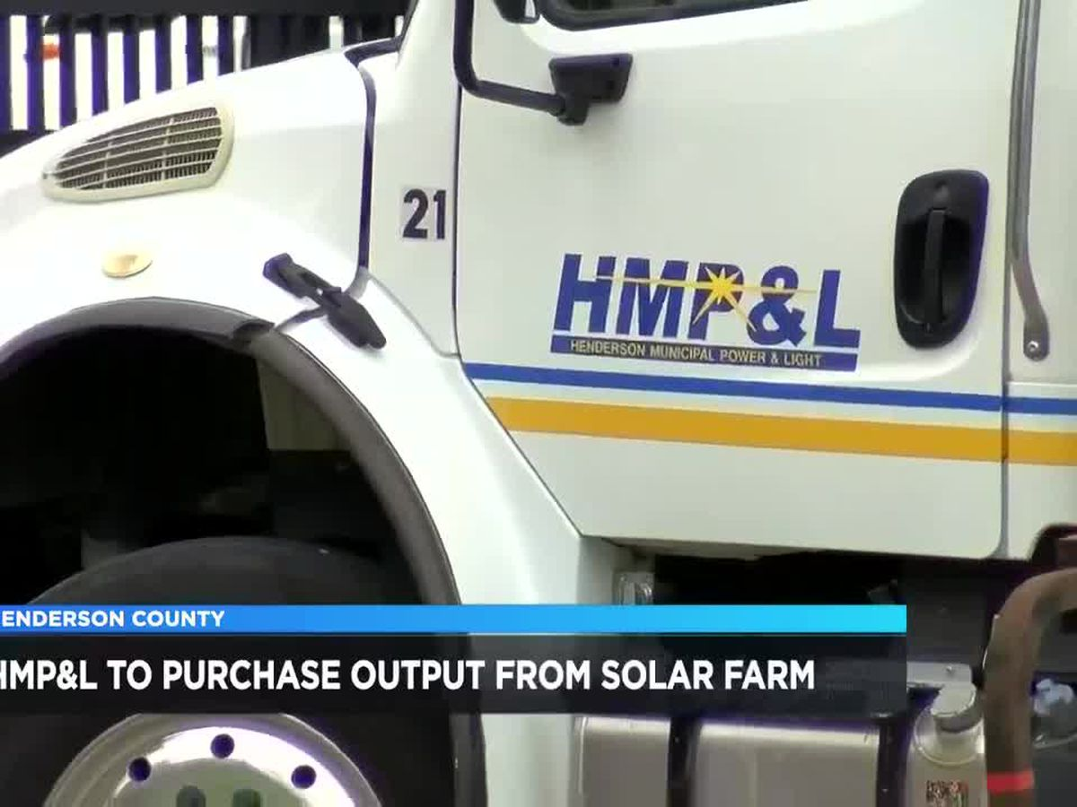 HMP&L to buy 100% of output from new solar farm