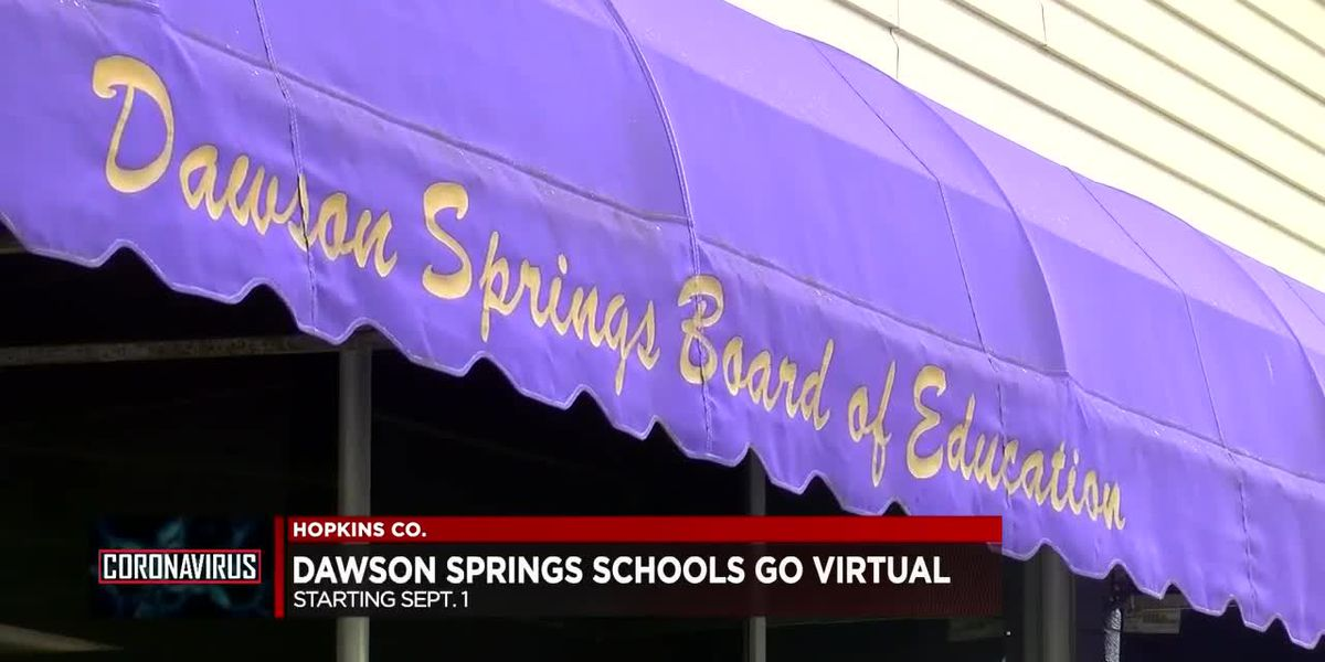 Students in Dawson Spring head back to school virtually Tuesday