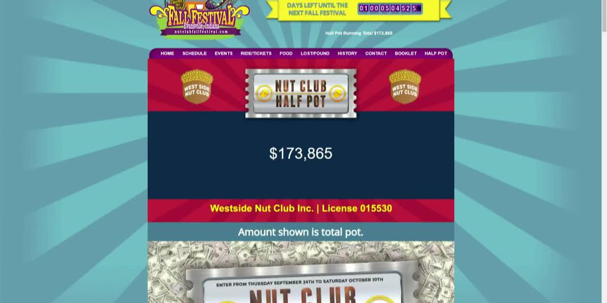West Side Nut Club half-pot sales start up again Thursday