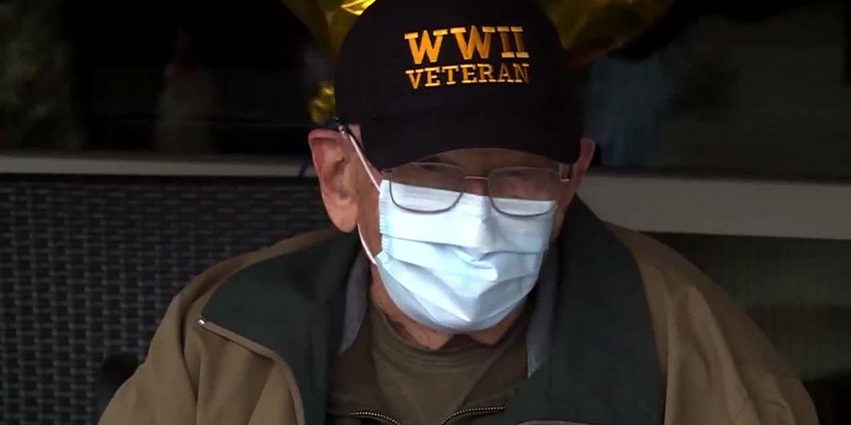 Oregon veteran celebrates 104th birthday after coronavirus recovery