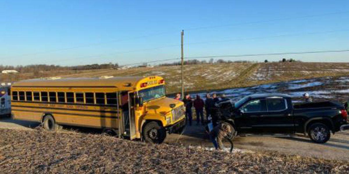 No students on board in Dubois Co. school bus crash