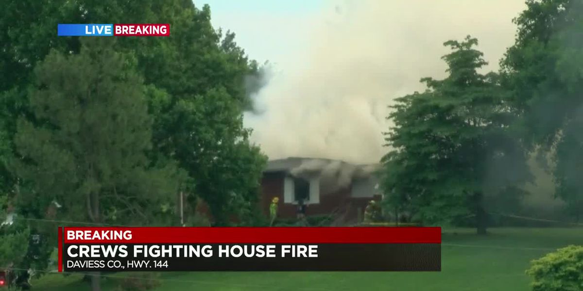 Crews called to fully involved fire in Daviess Co.