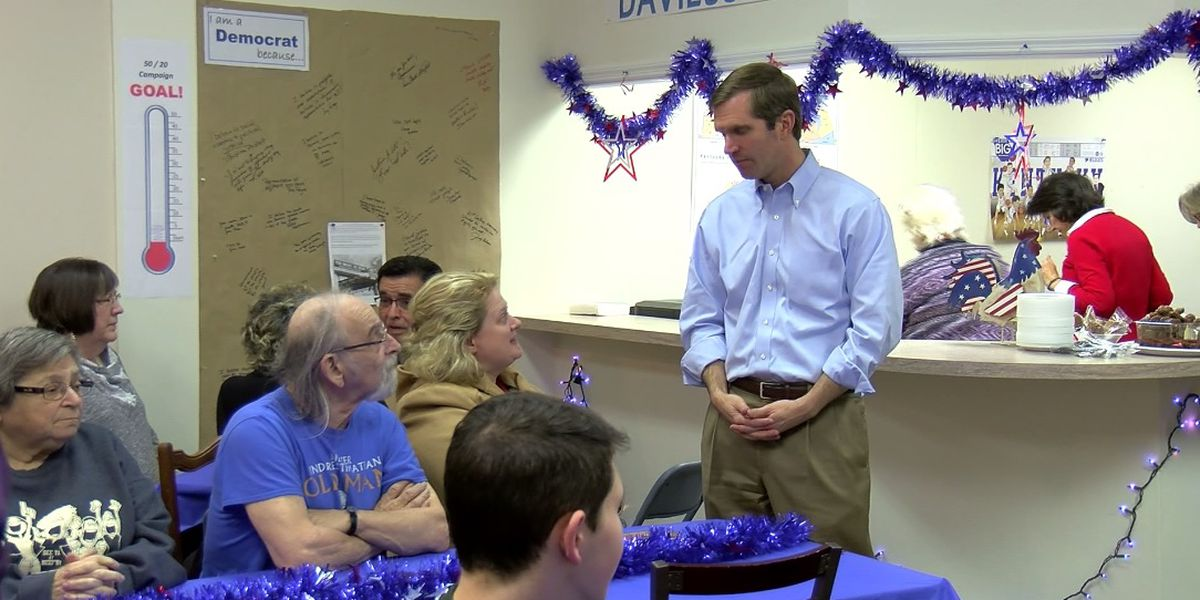 Andy Beshear attends Owensboro potluck