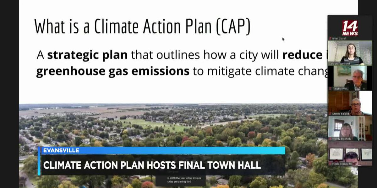City leaders moving forward with Evansville Climate Action Plan