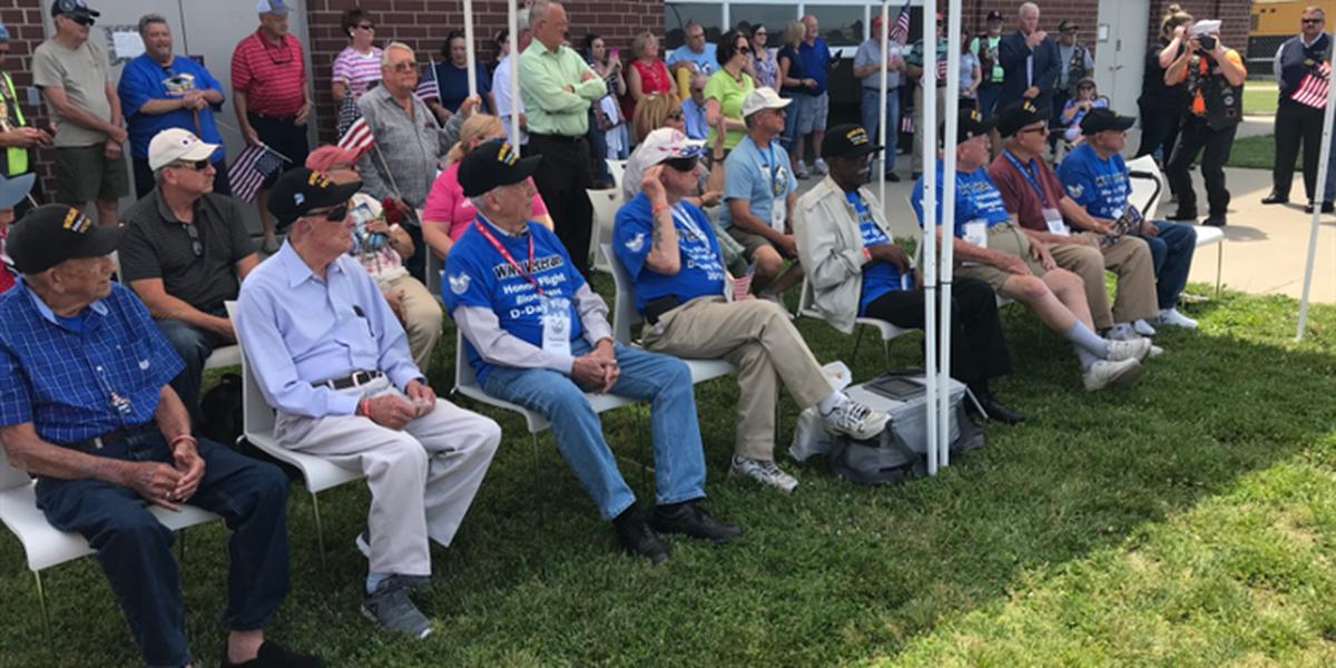 Honor Flight Bluegrass WWII Veterans return home