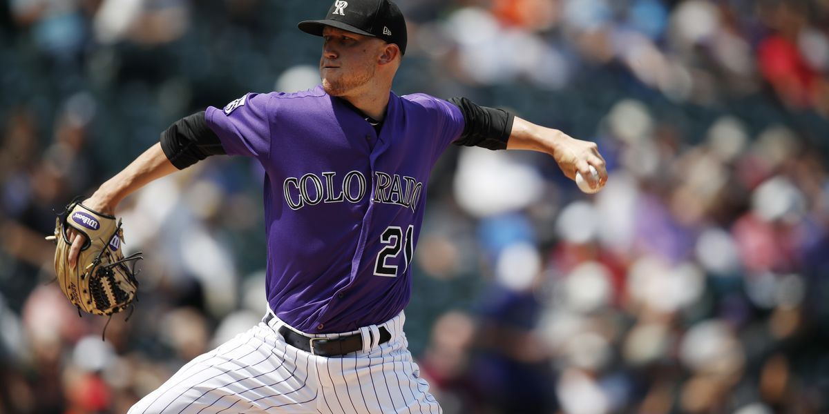 Rockies' Kyle Freeland on injured list with finger blister
