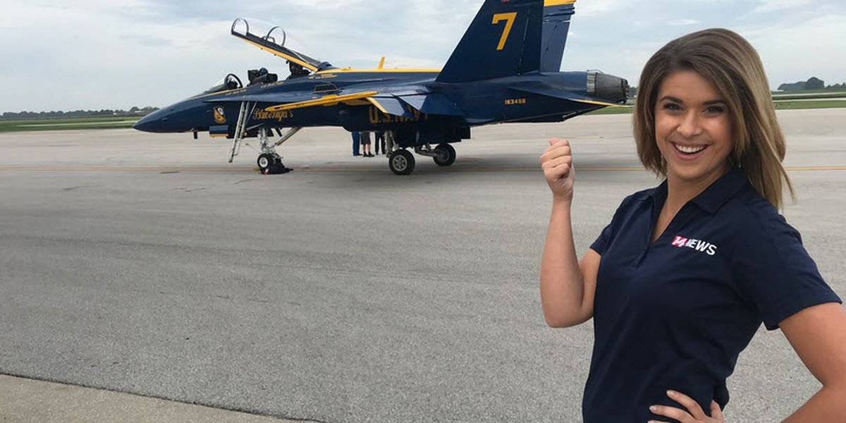 Shaelie Clark joins Blue Angels for the ride of her life