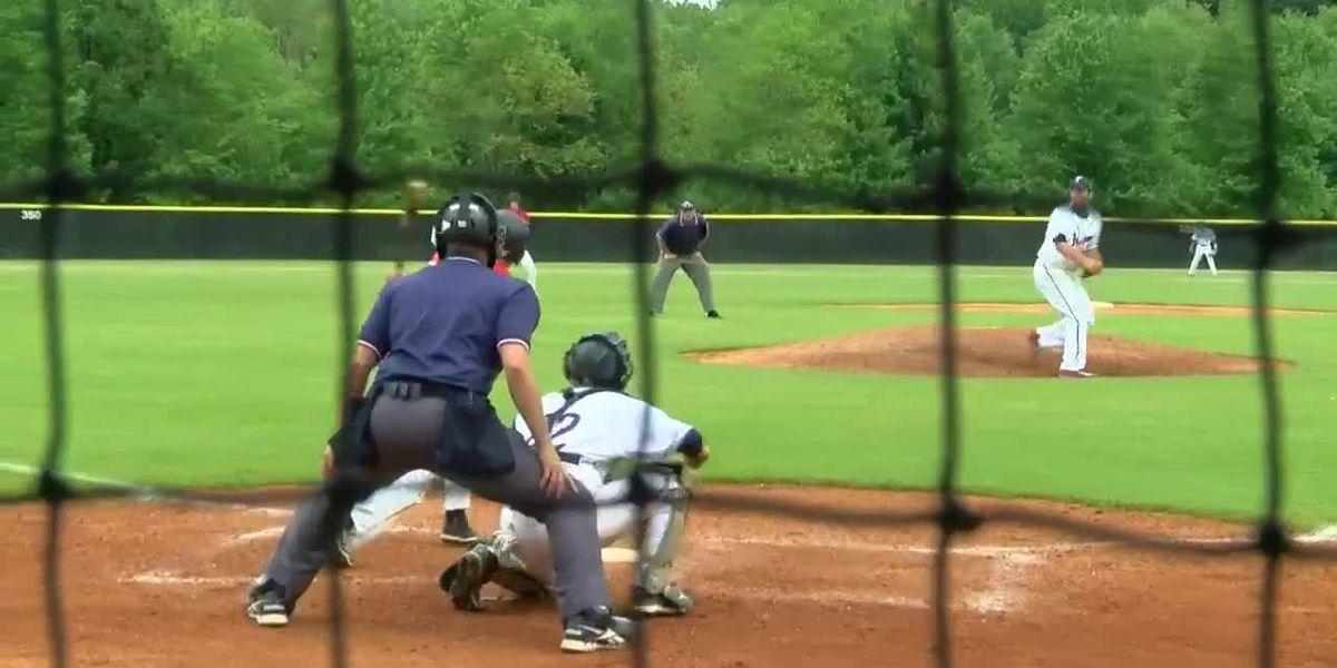 North Posey vs. Tecumseh High School Baseball