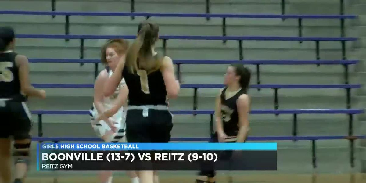 Boonville vs Reitz girls basketball highlights
