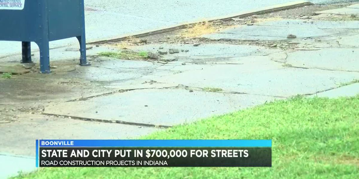 Boonville to put in $700k from state and city for bettering streets
