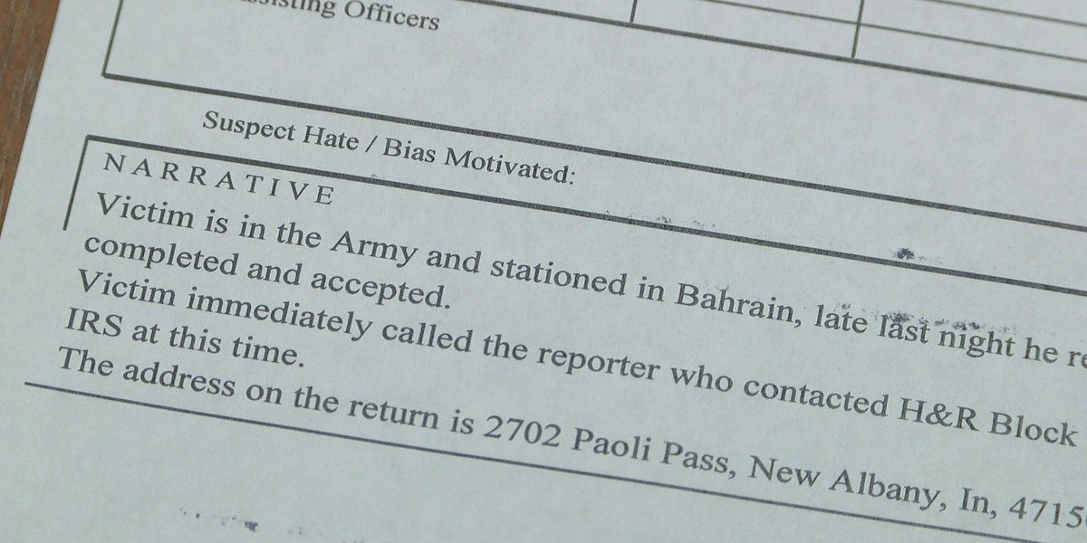 Tri-State soldier serving overseas might be victim of tax fraud