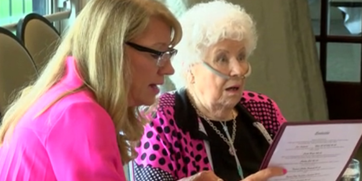 Newburgh woman celebrates 91st birthday with family, friends