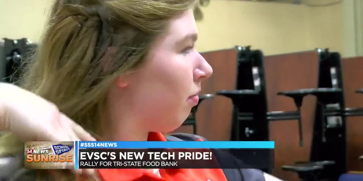 New Tech Institute takes on Sunrise School Spirit challenge
