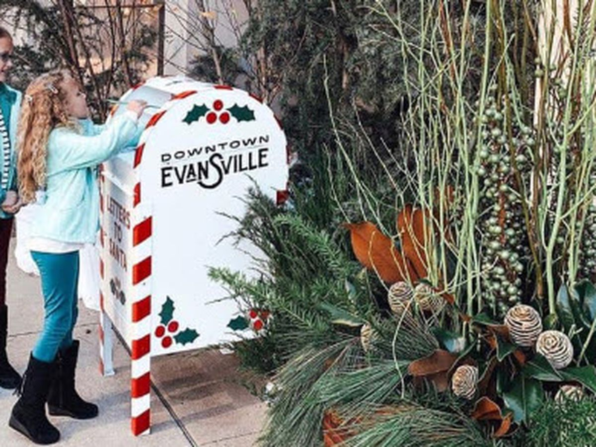 New mailbox for Santa letters placed in Evansville