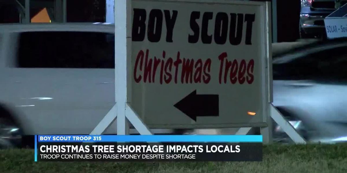 Christmas tree shortage impacts local boy scout troop