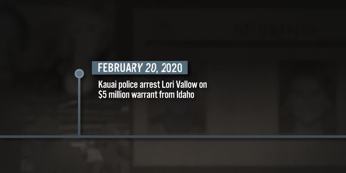 Timeline of events leading to Lori Vallow's arrest in Hawaii