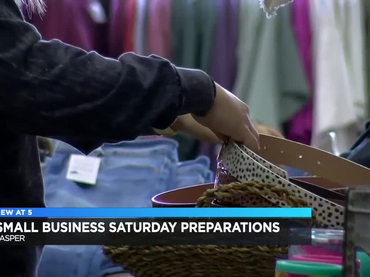 Jasper business preps for Small Business Saturday