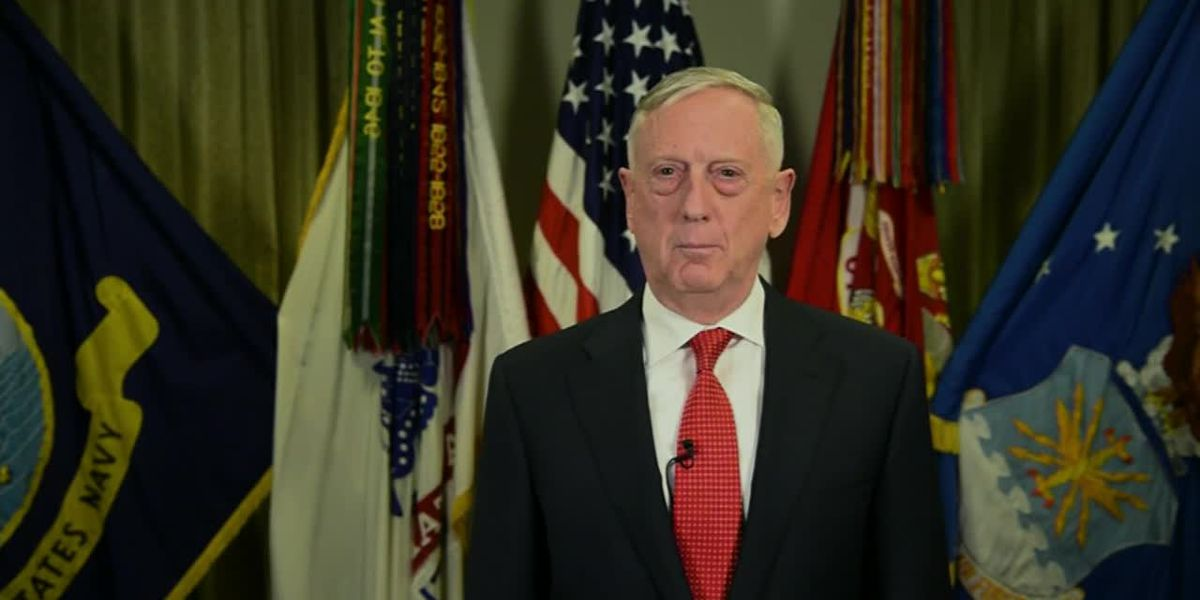 In Christmas message, Mattis thanks troops