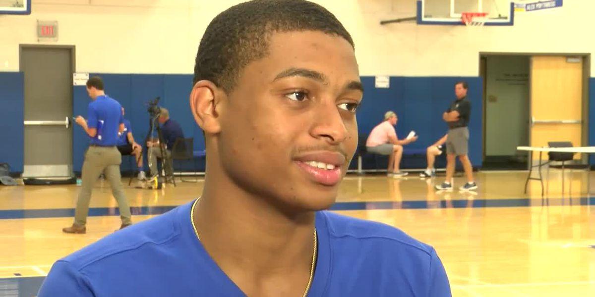 Kentucky's Johnson enters NBA draft but may return to school