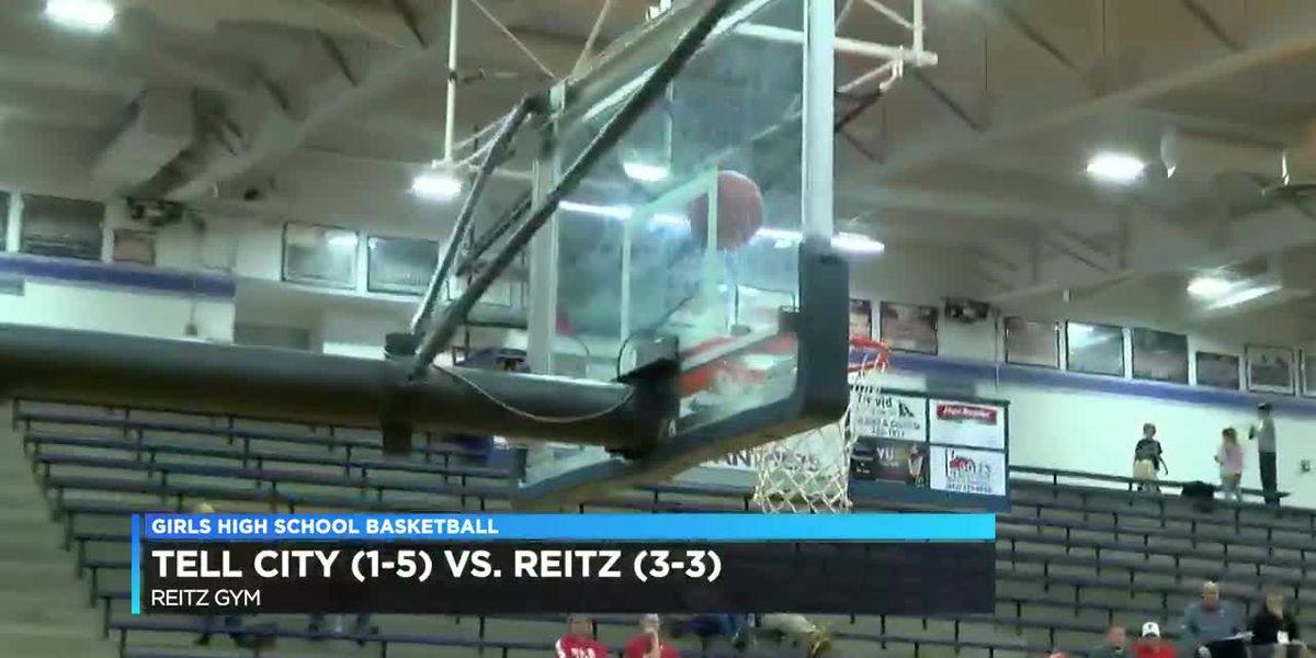 Reitz vs Tell City girls basketball highlights