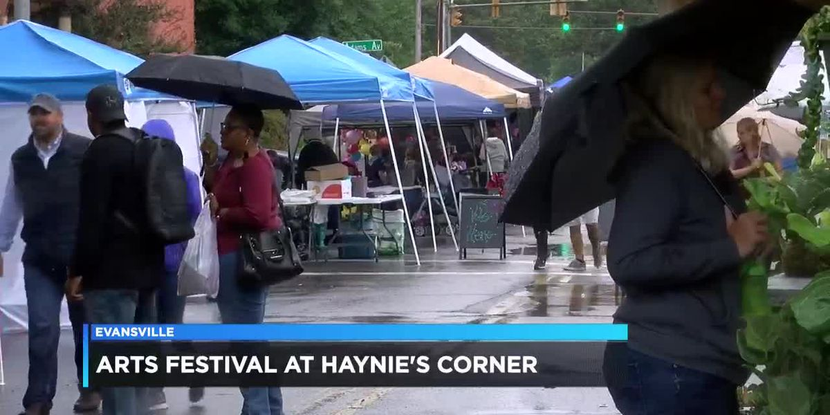 Arts festival held at Haynie's Corner
