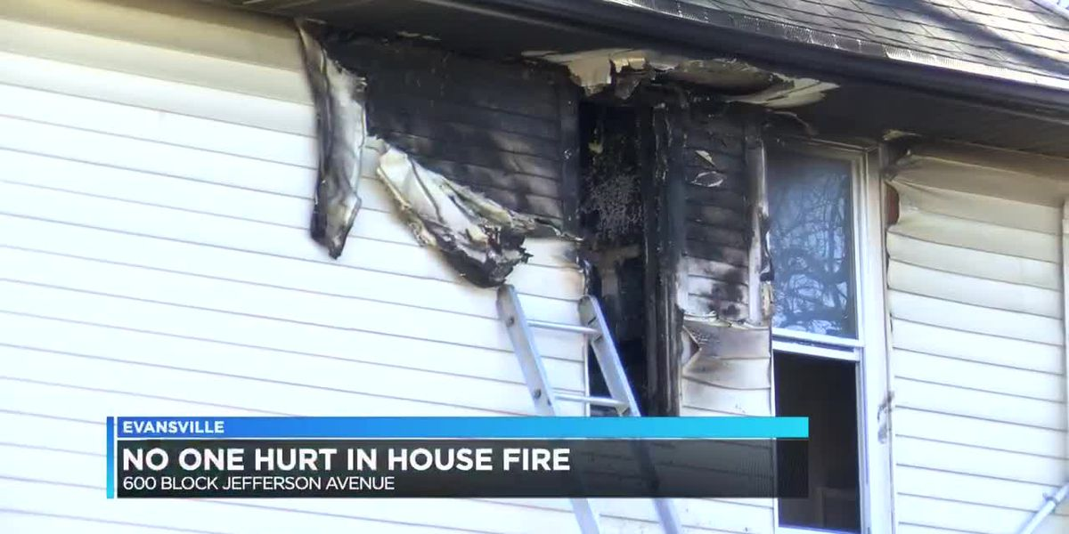 Everyone safe after Jefferson Ave. home fire