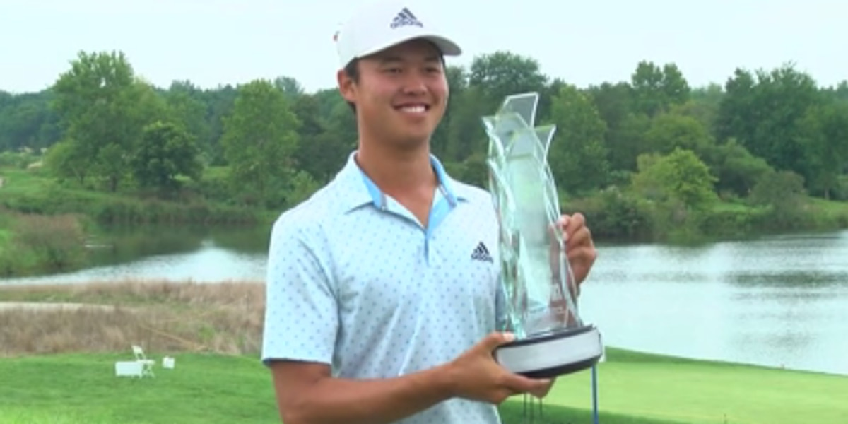 Wu stages big Sunday comeback to win Korn Ferry Tour Championship