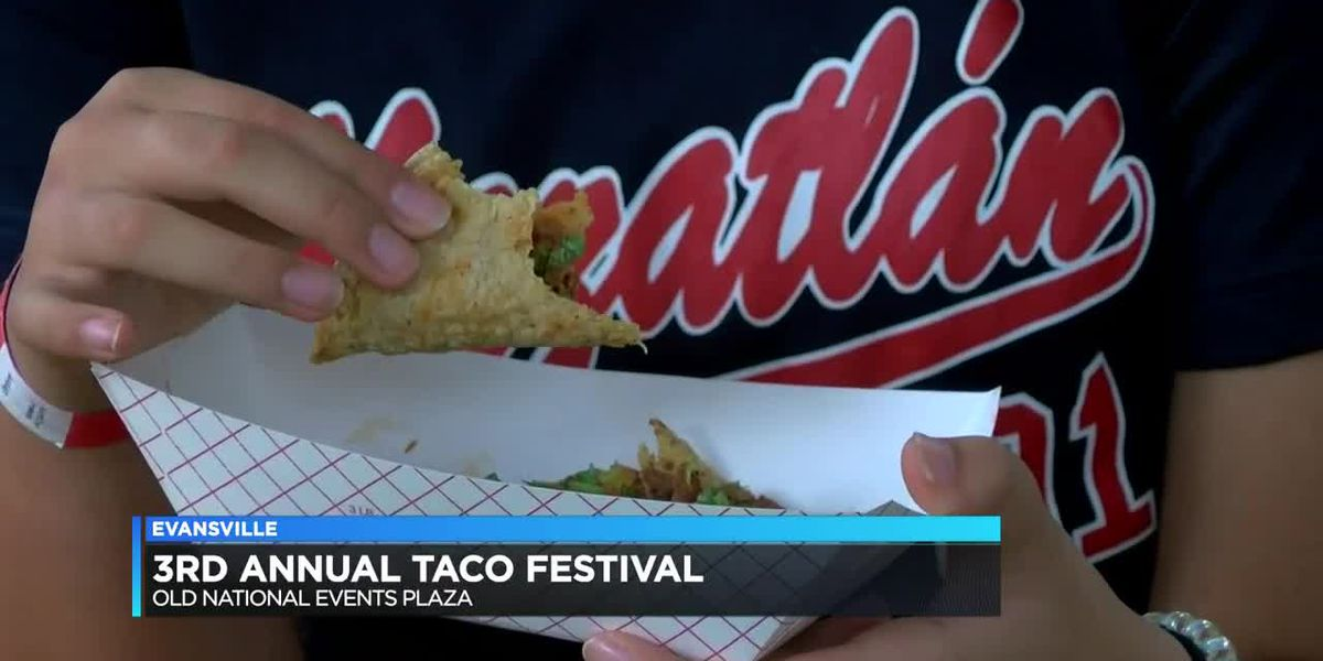 3rd Taco Fest held in Downtown Evansville